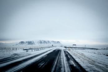 snowy road free